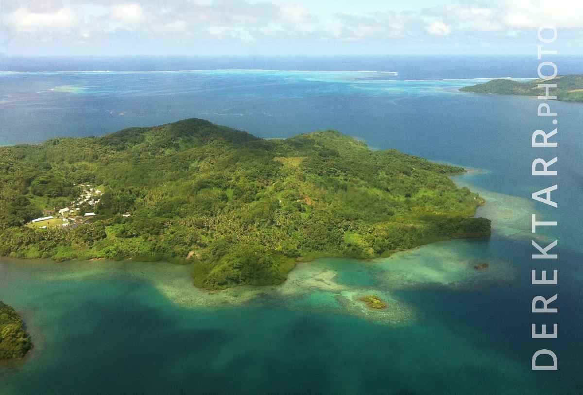 large view of Kadavu Island
