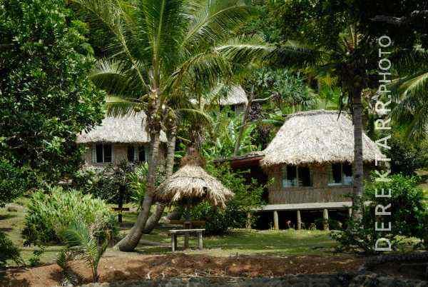 Guest Bures at Matava Resort