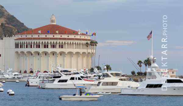 The Catalina Casino and Avalon Harbor