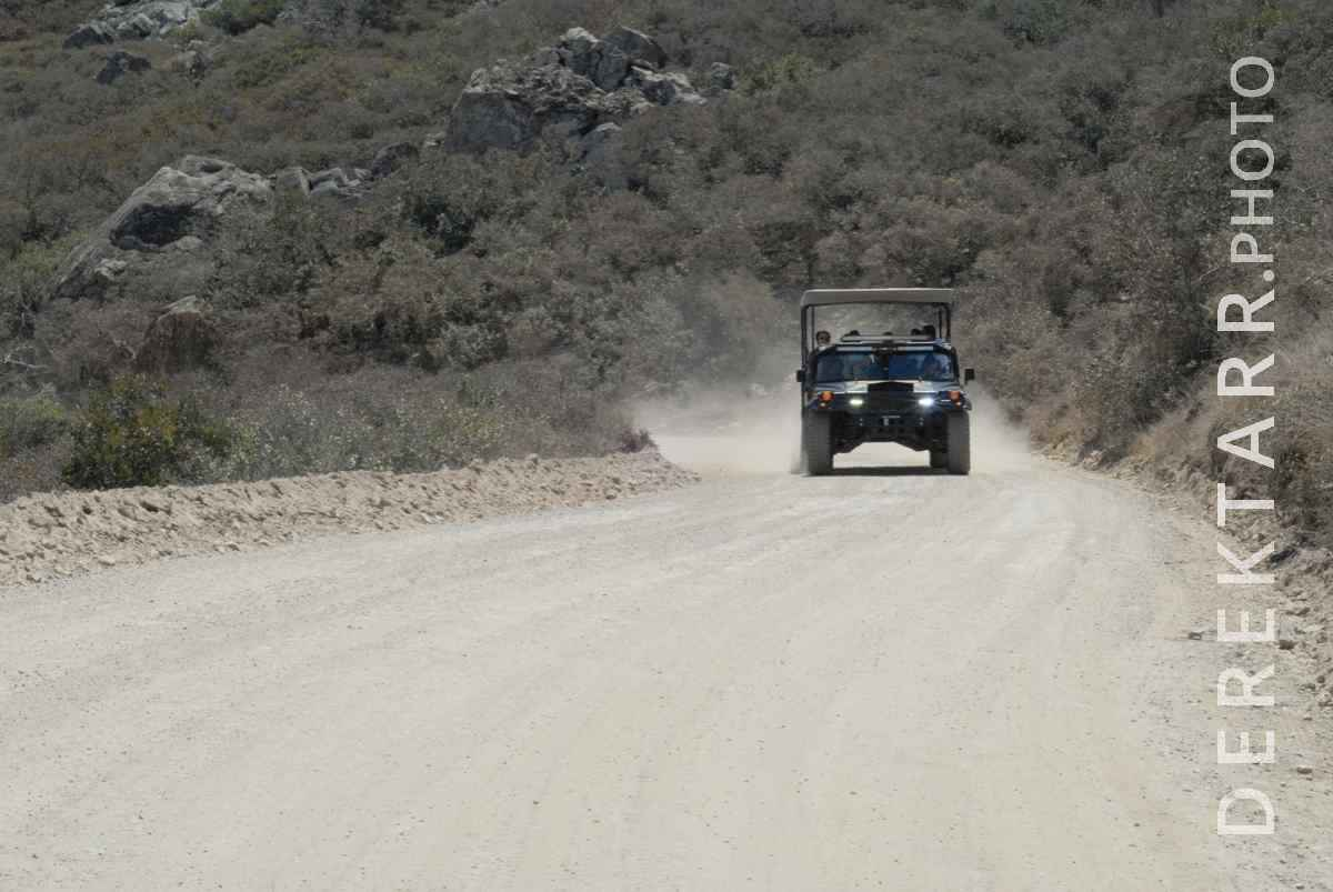 large view of Catalina Island Conservancy Tour Jeep
