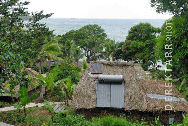 Ocean View from Two Trees bure at Matava