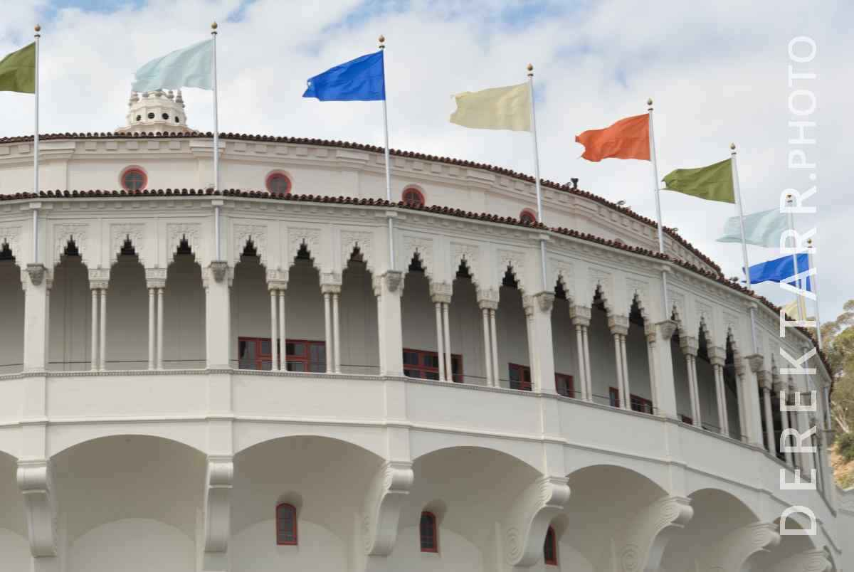 large view of Flags on the Casino