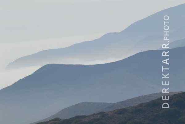 Fog and Mountains near Blackjack