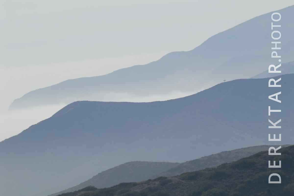 large view of Fog and Mountains near Blackjack