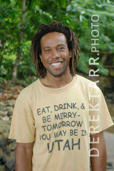 Happy Man at Matava