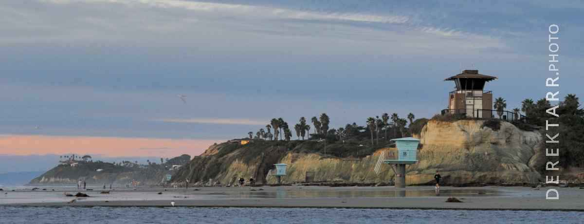 large view of Cardiff State Beach