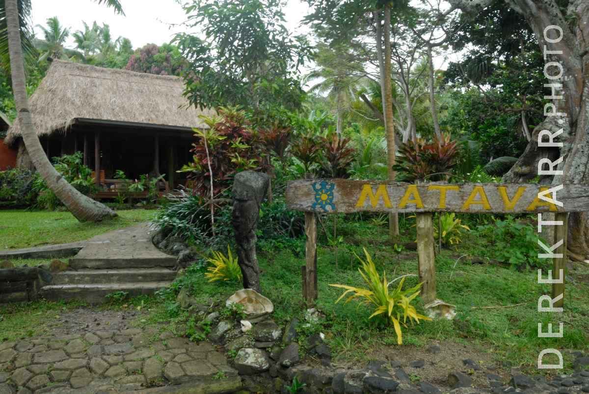 large view of Entrance to the Main Bure at Matava Resort