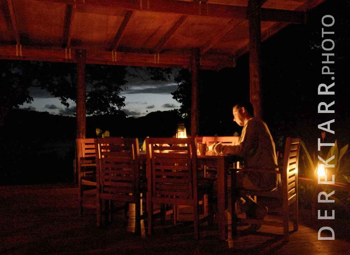 large view of Man Relaxing After Dark at Matava Main Bure