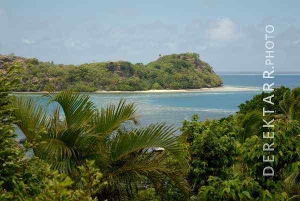 View of Waya Island from Matava Bure