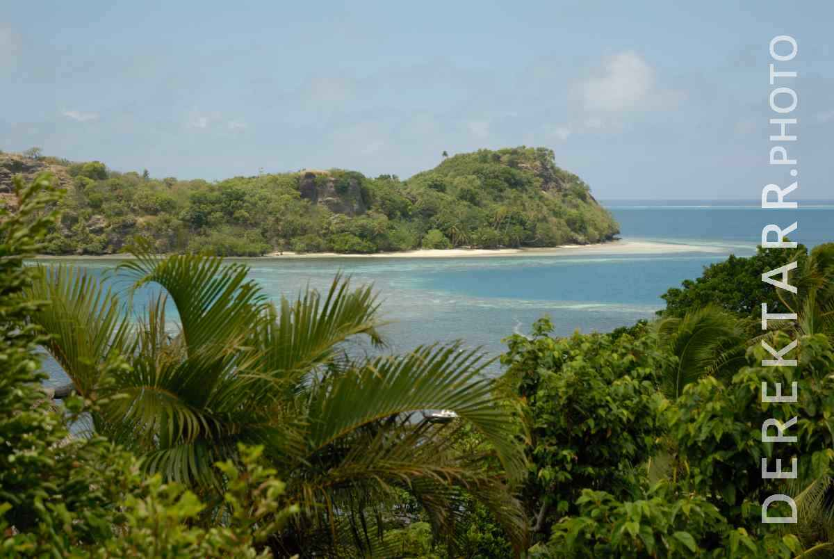 large view of View of Waya Island from Matava Bure