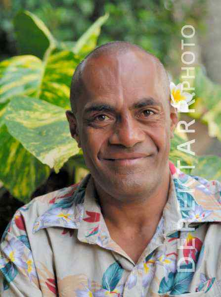 Smiling Fijian Man