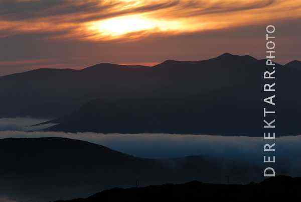 photograph of West End Sunset and Fog