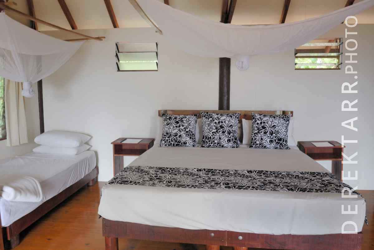 large view of Interior of Two Trees Bure at Matava Resort