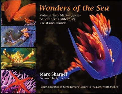 Photograph of the cover of Wonders of the Sea, Volume Two: Marine Jewels of Southern California's Coast and Islands