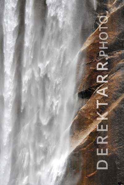 photograph of Yosemite Waterfall